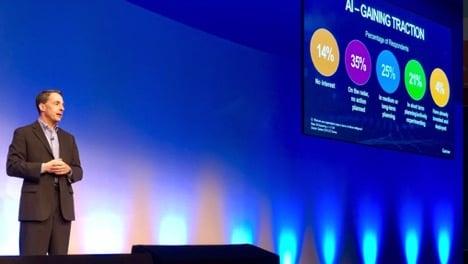 Ted at GartnerDA UK 2018 AI Artificial Intelligence and Machine Learning Intelligent Data Hub