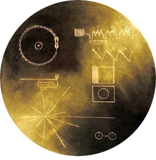 The Golden Record - Image from NASA